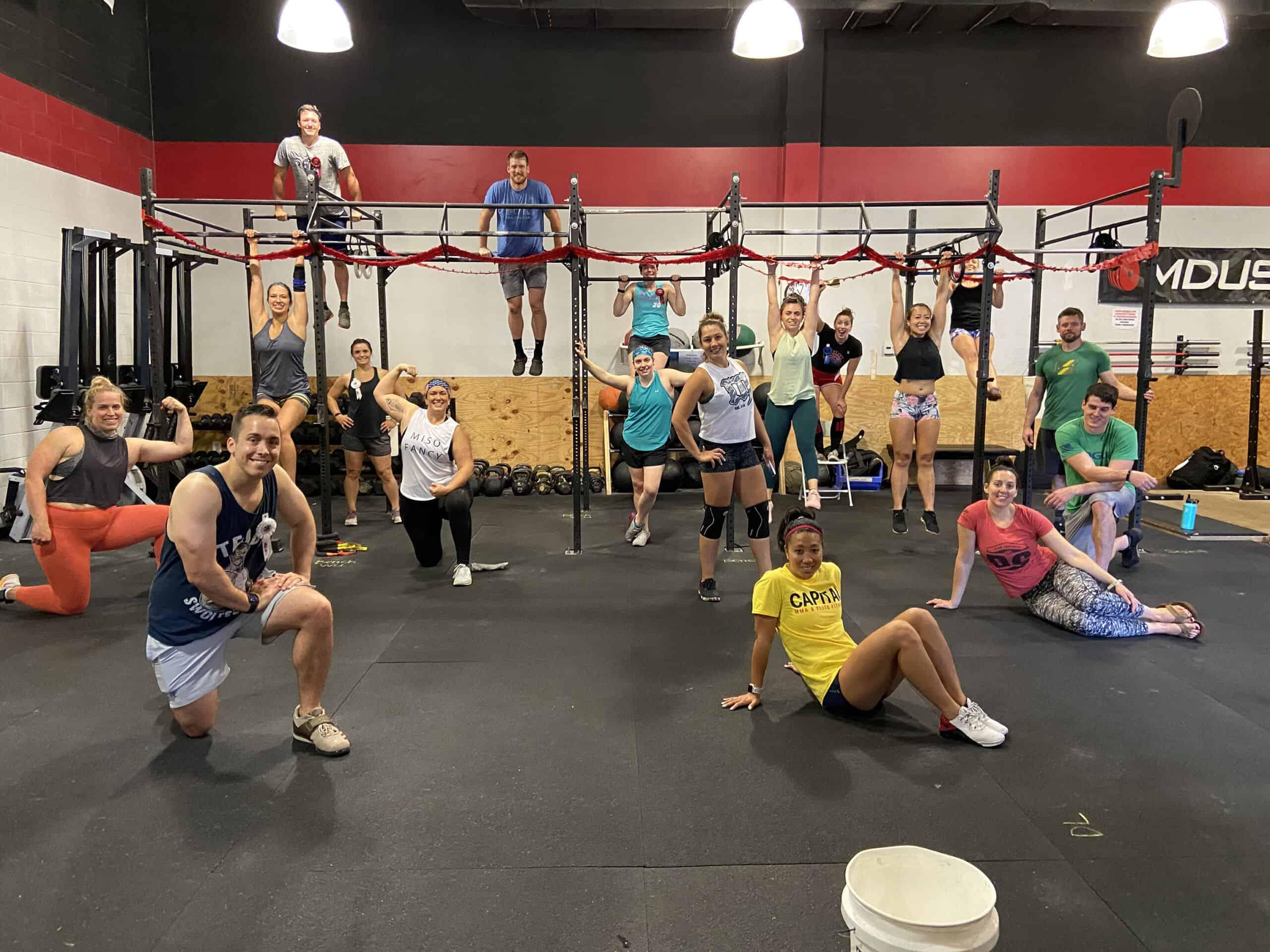 Mock Powerlifting Meet | Supporting Trisha Vamosi
